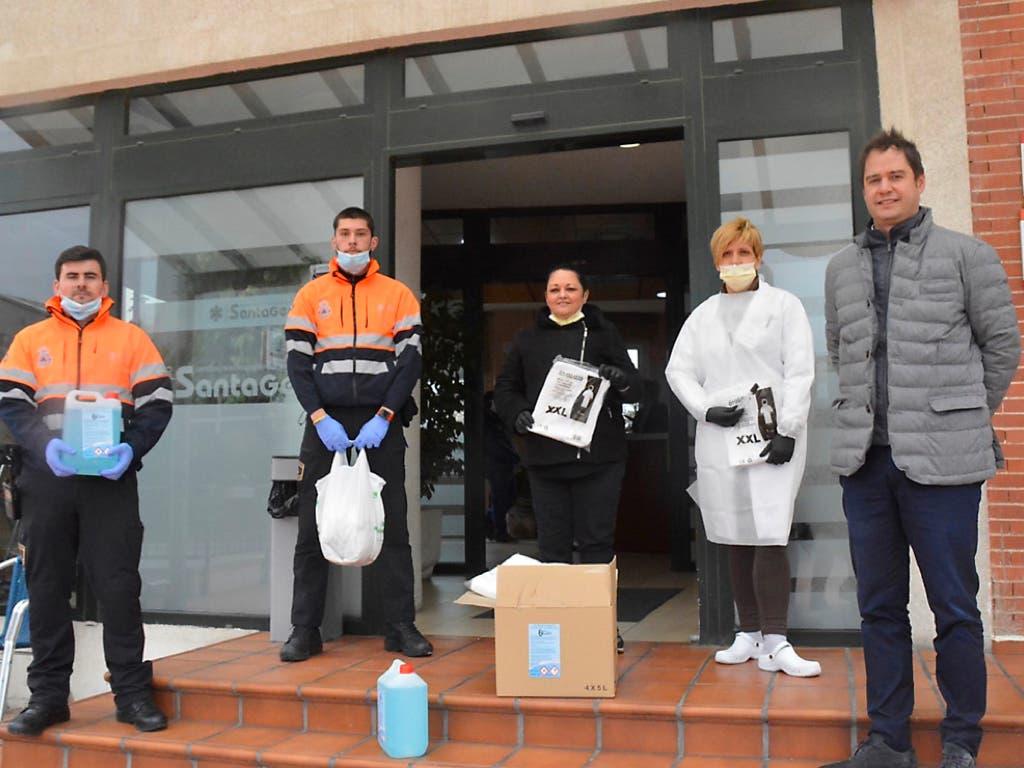 El Ayuntamiento de Torrejón de Ardoz entrega material de protección en residencias