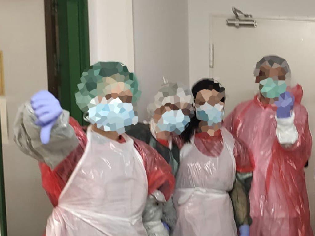 Los test rápidos prometidos por el Gobierno llegan tarde: «Ya hay demasiadas enfermeras contagiadas»