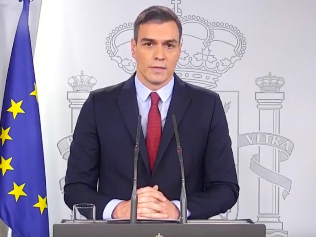 El Gobierno decretará mañana el estado de alarma en toda España por el coronavirus