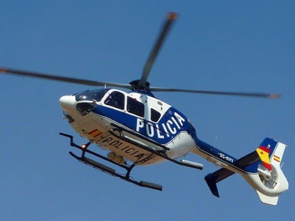 Coronavirus: Un helicóptero de la Policía aborta una fiesta con cocaína en Leganés