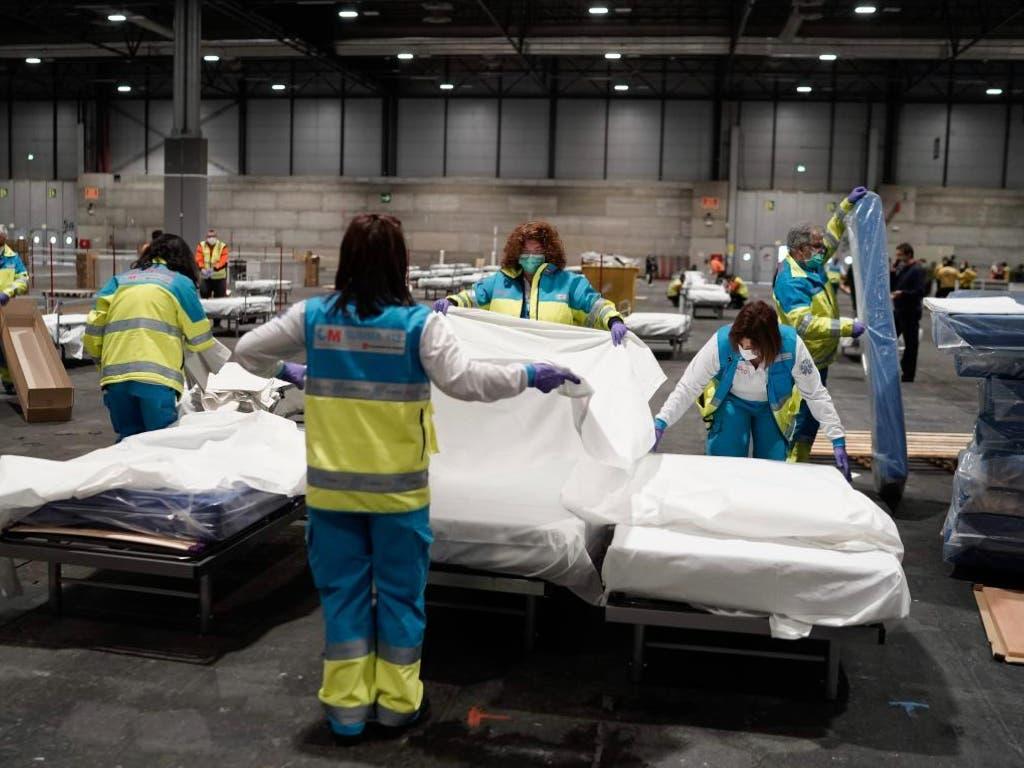 La Comunidad de Madrid alcanza los 1.263 fallecidos por coronavirus