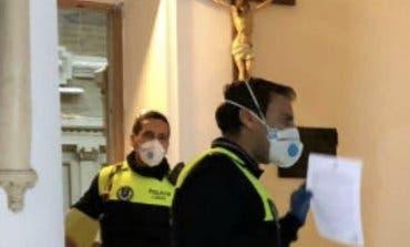 Inspeccionan una iglesia de Alcalá de Henares para hacer cumplir el distanciamiento
