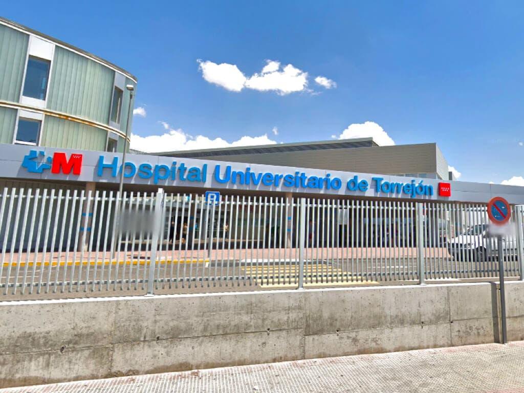 El Hospital de Torrejón mantiene las restricciones de acceso ante el aumento de contagios