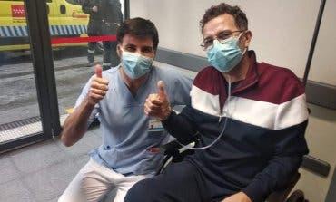 Recibe el alta el primer paciente con coronavirus extubado en el Hospital de Arganda