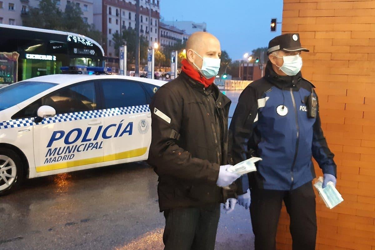 Termina por hoy el reparto de mascarillas en la Comunidad de Madrid