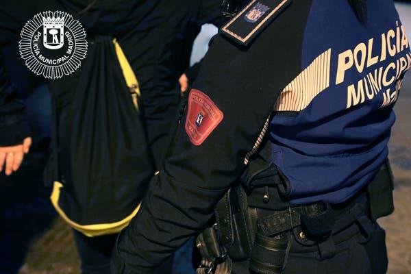 Detenido en Madrid un joven por dar una paliza a su madre