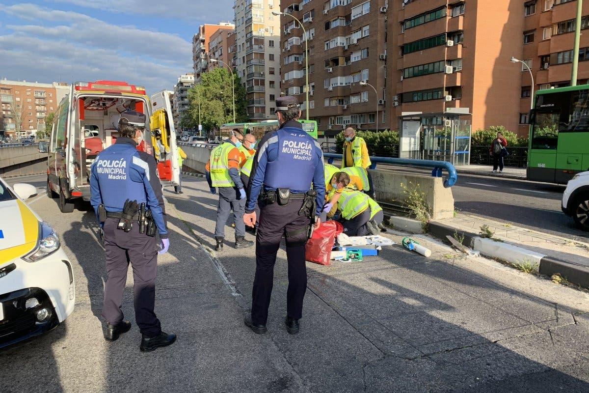 Herido grave un joven tras ser atropellado en Madrid