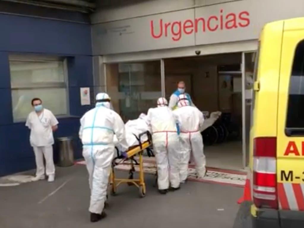 Repuntan los fallecidos diarios por coronavirus en España