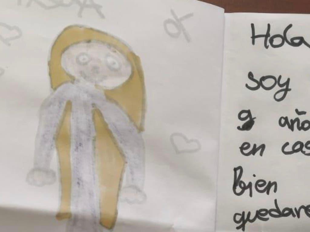 La carta de una niña de Azuqueca a la Guardia Civil