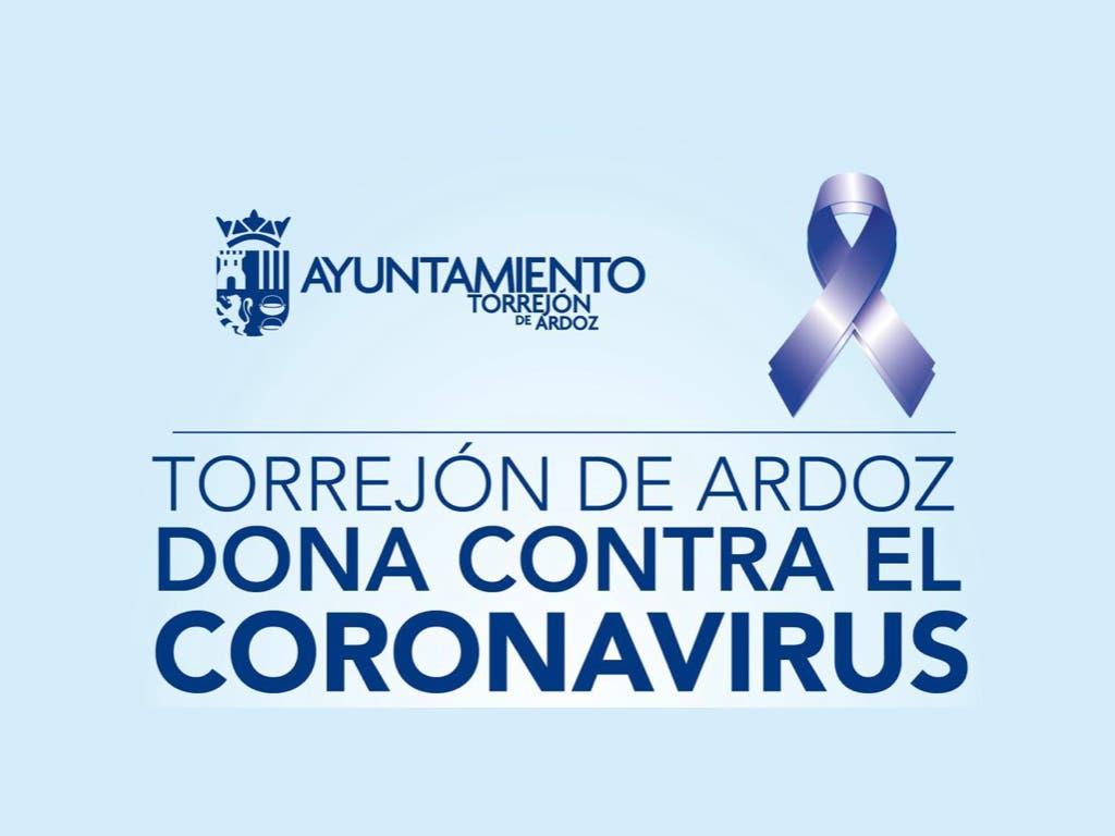 Torrejón de Ardoz lanza una campaña de donaciones contra el virus