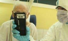 Videollamadas de esperanza para pacientes mayores ingresados en Guadalajara