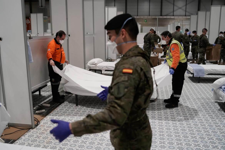 España suma otros 809 muertos por coronavirus y registra ya 11.744 fallecidos
