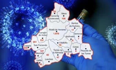 El mapa del coronavirus en el Corredor del Henares