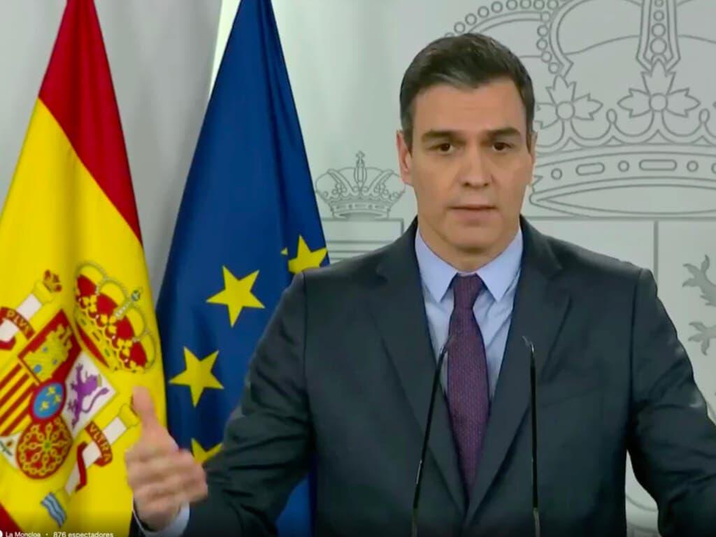 Sánchez anuncia una segunda prórroga del estado de alarma hasta el 26 de abril