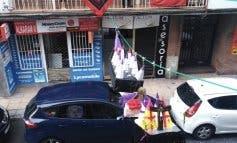 Una procesión en los balcones de San Fernando de Henares