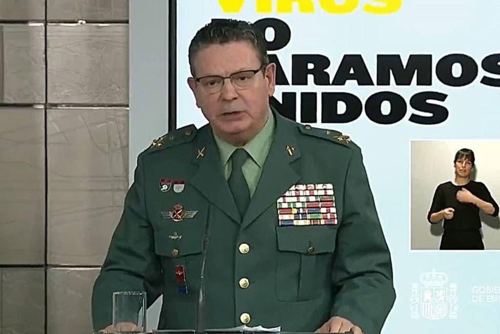 Dimite el DAO de la Guardia Civil tras el cese de De los Cobos