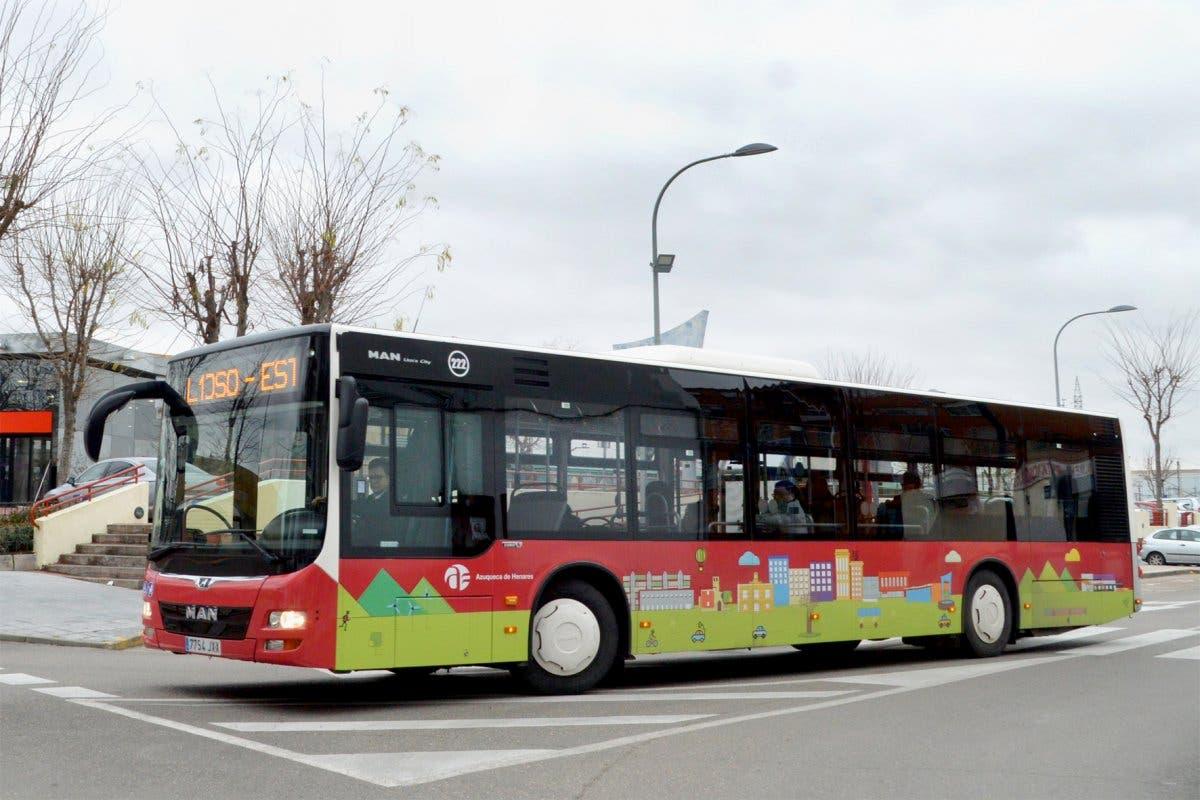 Fase 1: Los autobuses urbanos gratuitos de Azuqueca vuelven a funcionar el lunes