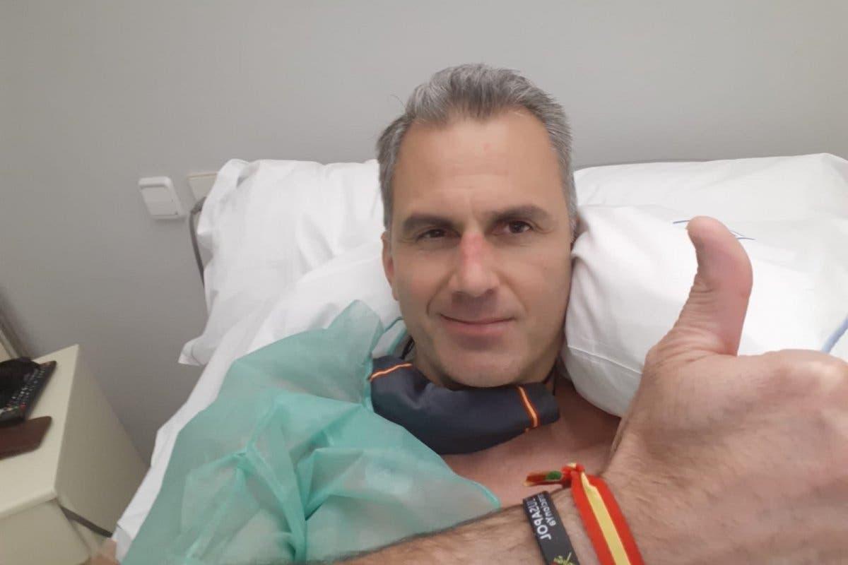 Ortega Smith, hospitalizado por trombos a causa del coronavirus