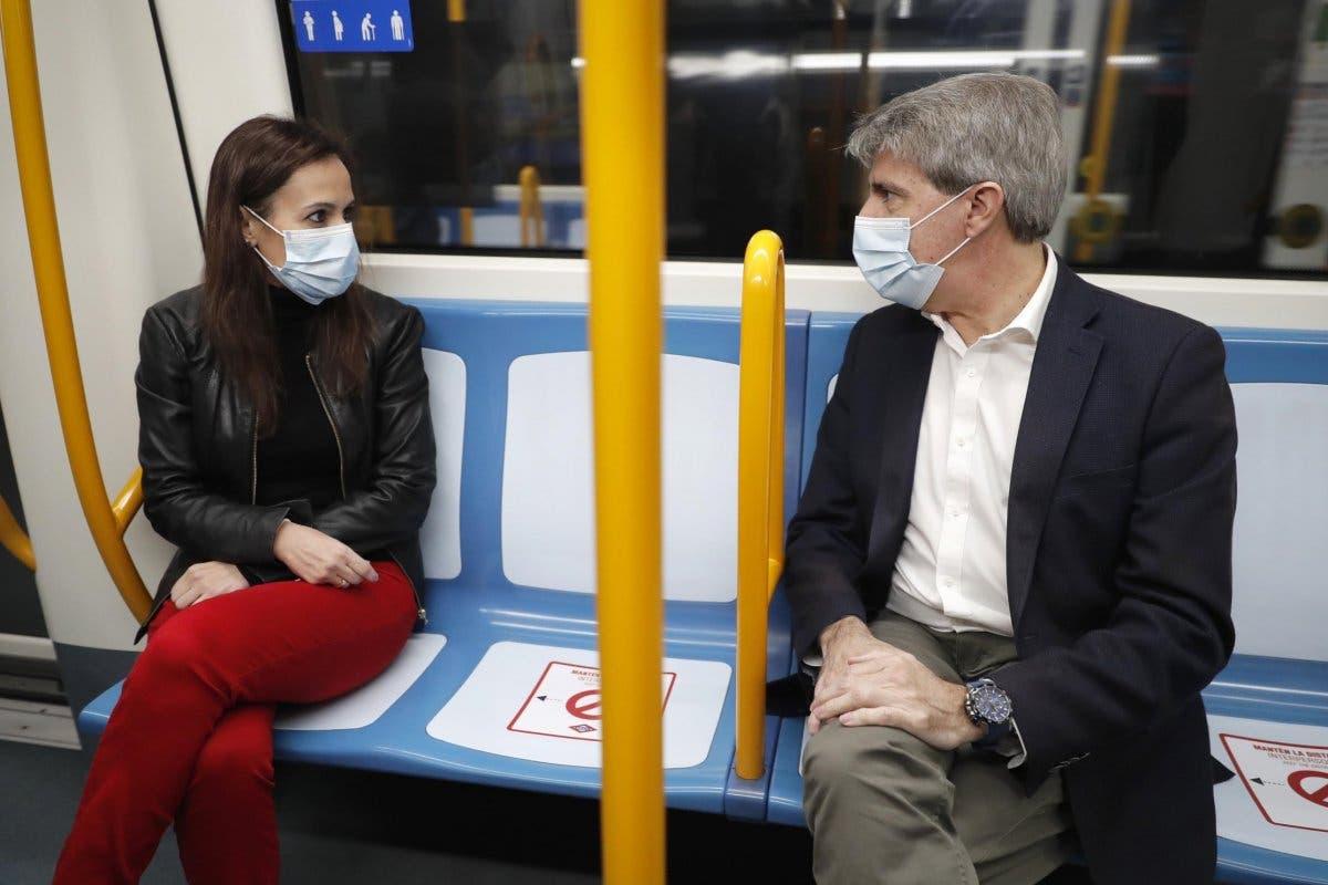 Así será viajar en Metro de Madrid durante la desescalada