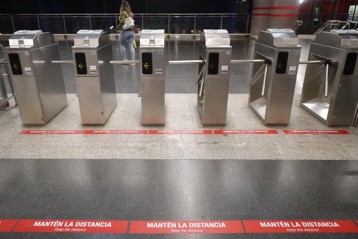 Control de aforo en el Metro de Madrid a partir del lunes