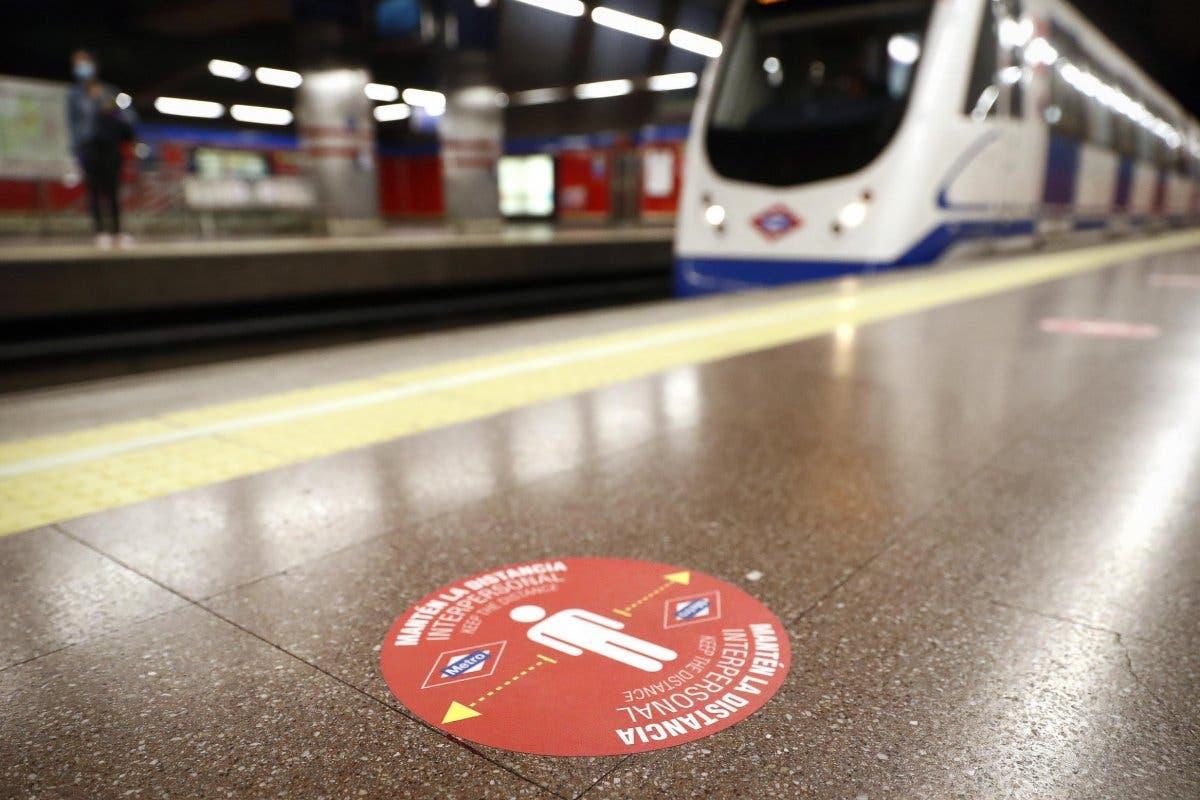 El transporte público de Madrid volverá a funcionar al 100% en hora punta