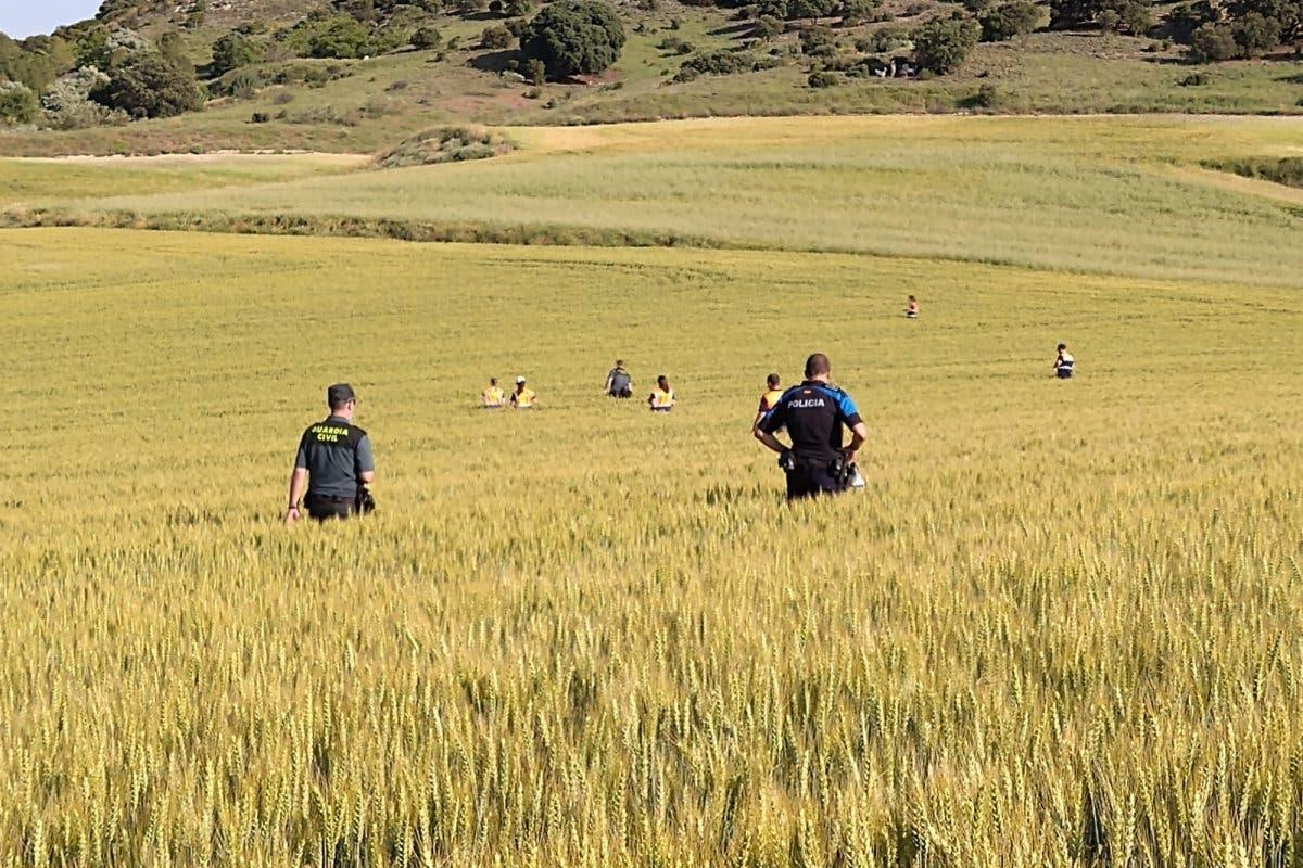Localizado el joven desaparecido en Villalbilla tras un amplio dispositivo de búsqueda