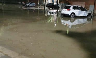 Inundaciones y apagón en Azuqueca de Henares por la tormenta