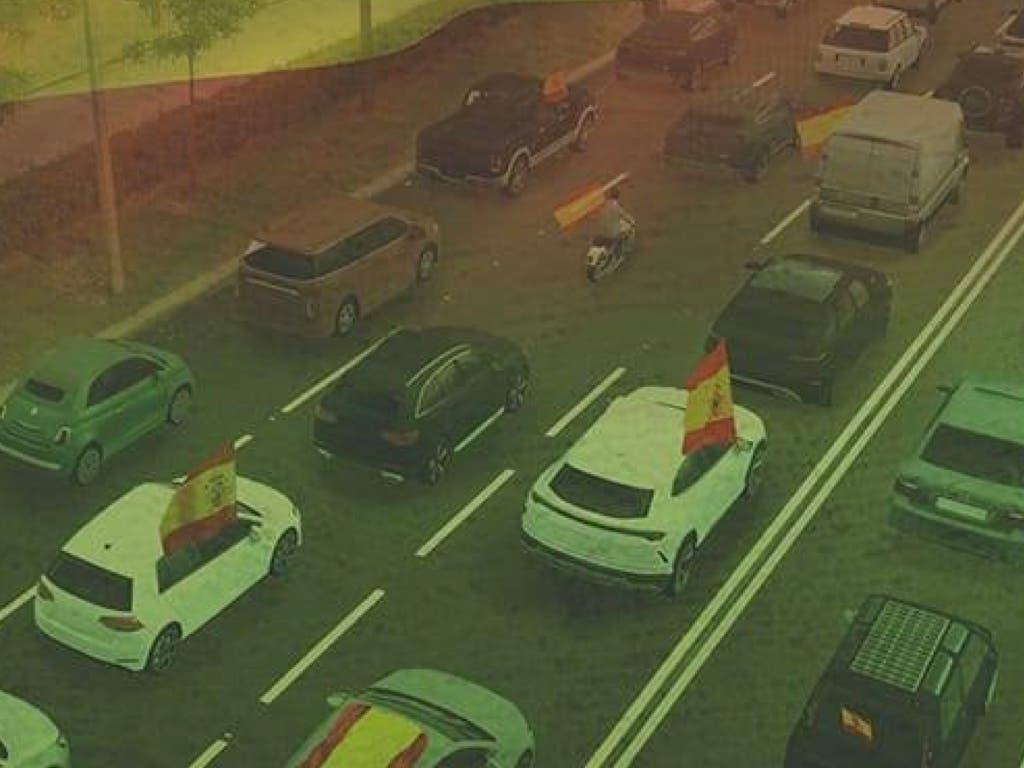 Autorizan en Madrid y Guadalajara las manifestaciones en coche convocadas por Vox