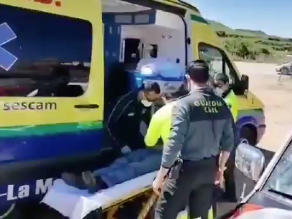 Aparece con un golpe en la cabeza un hombre desaparecido ayer en Guadalajara