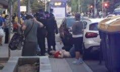 Agreden a un joven en una cacerolada contra el Gobierno en Moratalaz