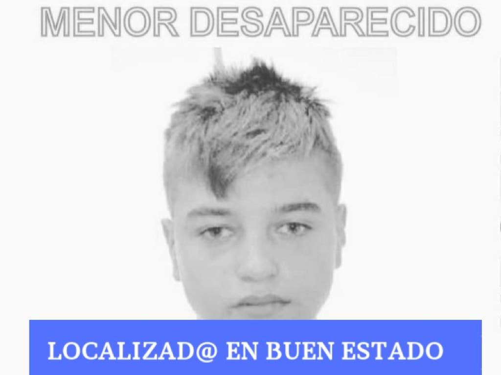 Localizado el menor de 15 años desaparecido en Torrejón de Ardoz