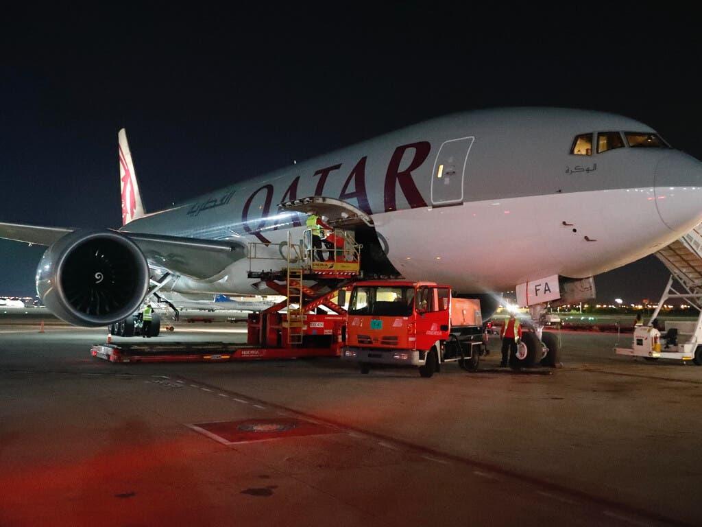 Aterriza en Madrid un sexto avión de Ayuso con 56 toneladas de material sanitario