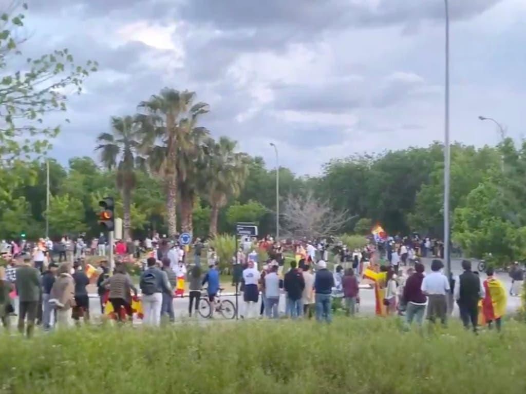 Las protestas contra el Gobierno se extienden a otros barrios de Madrid