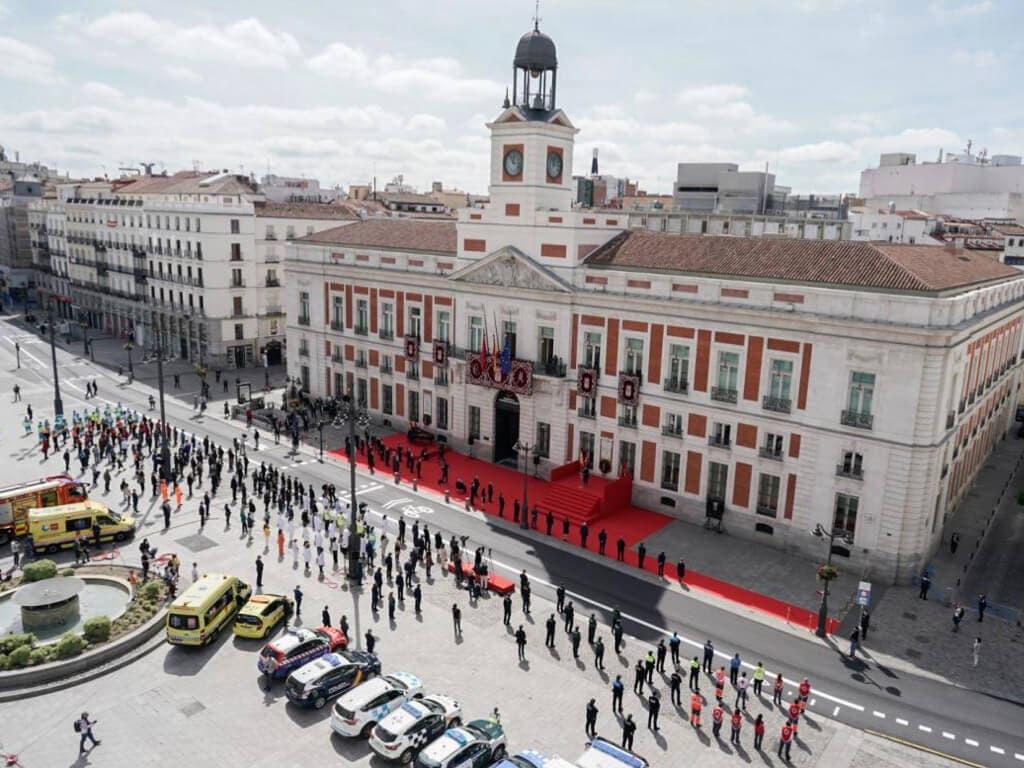 Madrid rinde homenaje este Dos de Mayo a los héroes del coronavirus