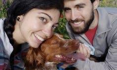 Una pareja de jóvenes madrileños adopta a Chico tras morir su dueño por coronavirus