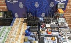 Detenidos siete butroneros que robaron un lingote de oro en Rivas Vaciamadrid