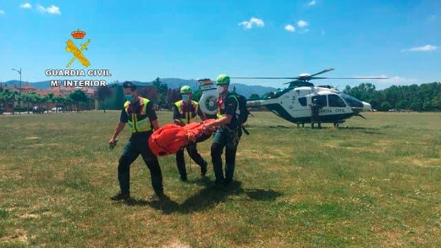 Hallado el cadáver de un senderista madrileño desaparecido en noviembre en la Sierra de Ayllón