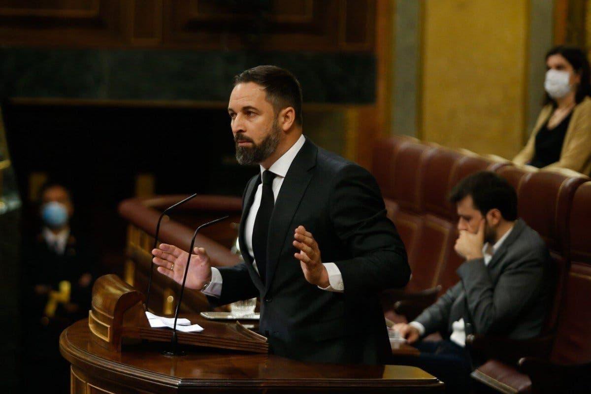 Abascal responde a Sánchez: «Gritar viva el 8M es como gritar viva la muerte»