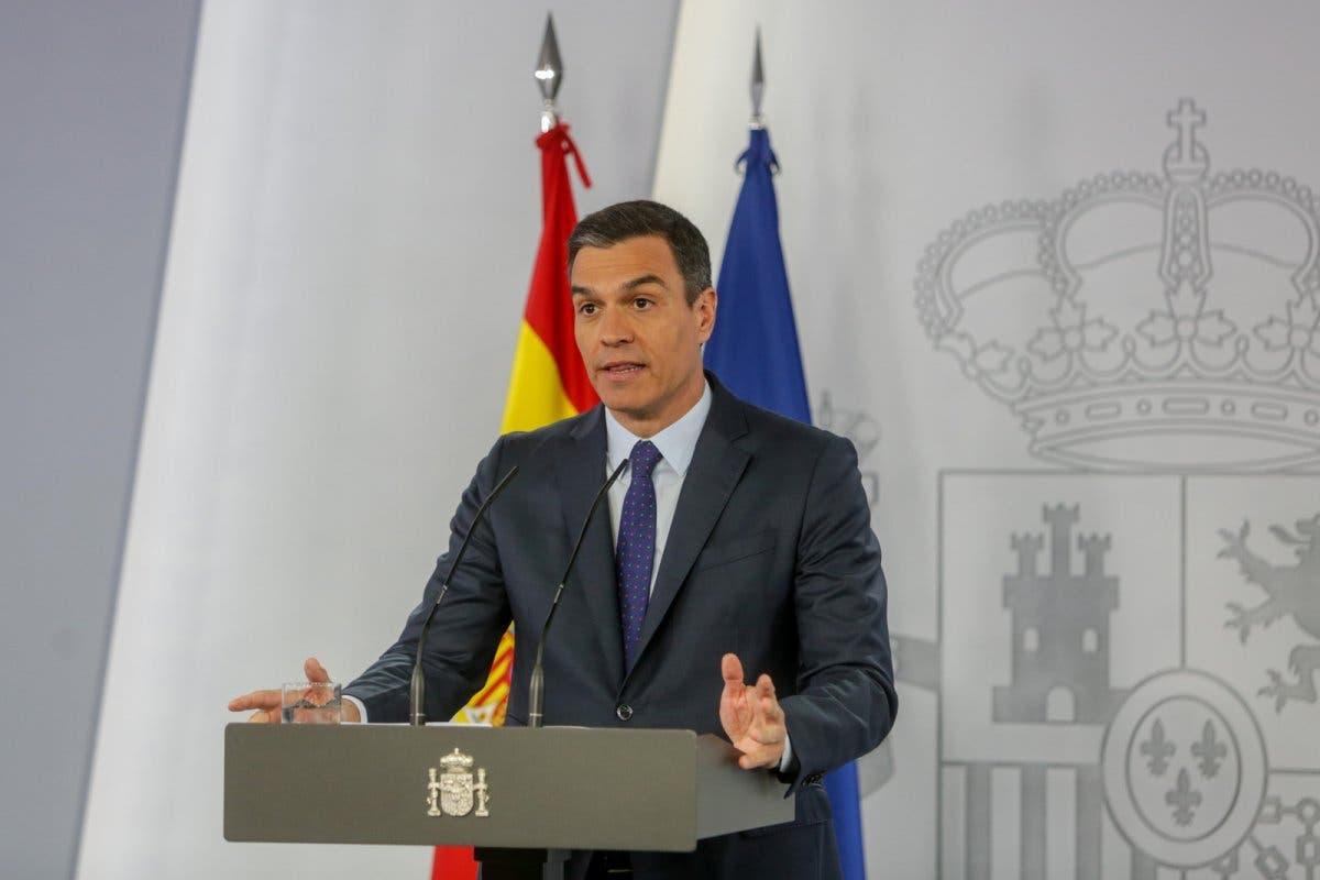 Sánchez anuncia la apertura de fronteras con la Unión Europea el 21 de junio