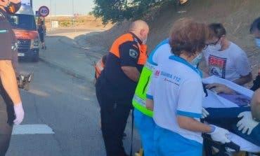 Herida la conductora de un patinete eléctrico en San Fernando de Henares