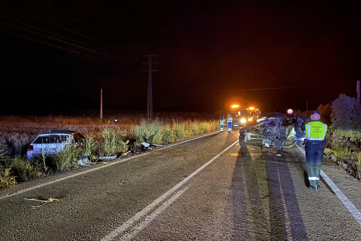 Muere un conductor de 34 años tras un choque frontal entre dos turismos en Colmenar de Oreja