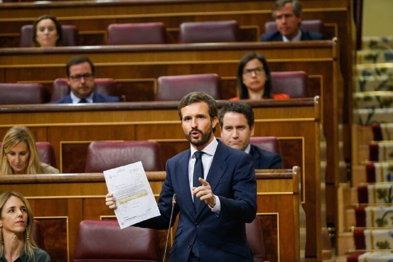 Casado acusa a Sánchez de «borrar» fallecidos para poder decir que hay «cero muertos»