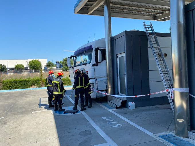 Muere un camionero atropellado por su propio camión en una ITV de Rivas Vaciamadrid