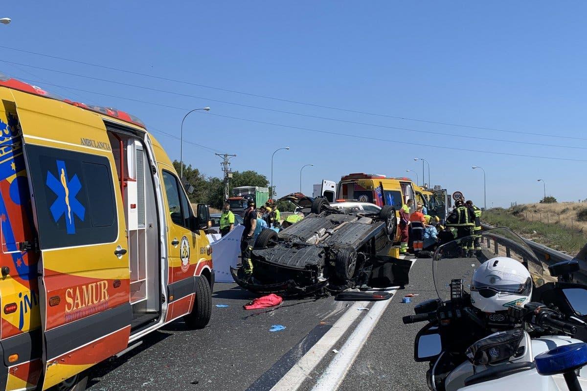 Fallece una mujer de 93 años en un accidente de tráfico en la A4