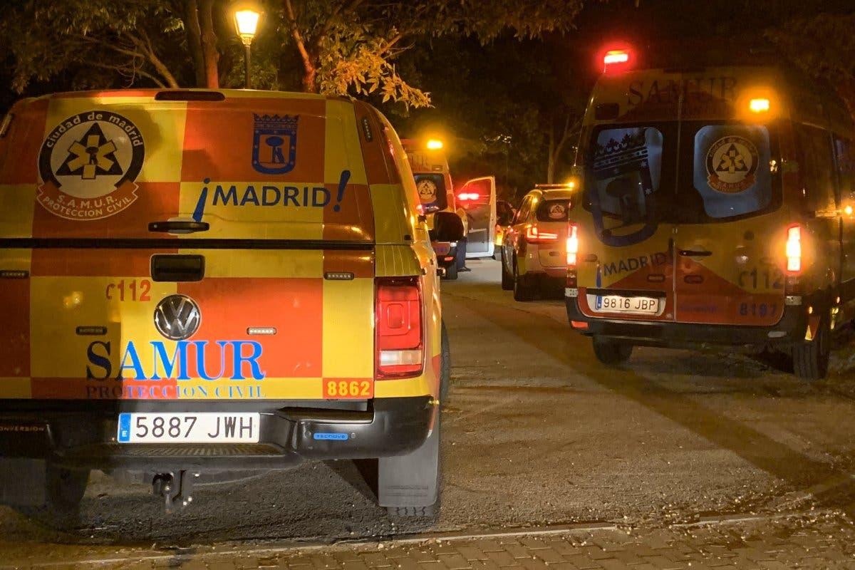 Dos menores heridos muy graves durante una reyerta entre bandas latinas en Carabanchel