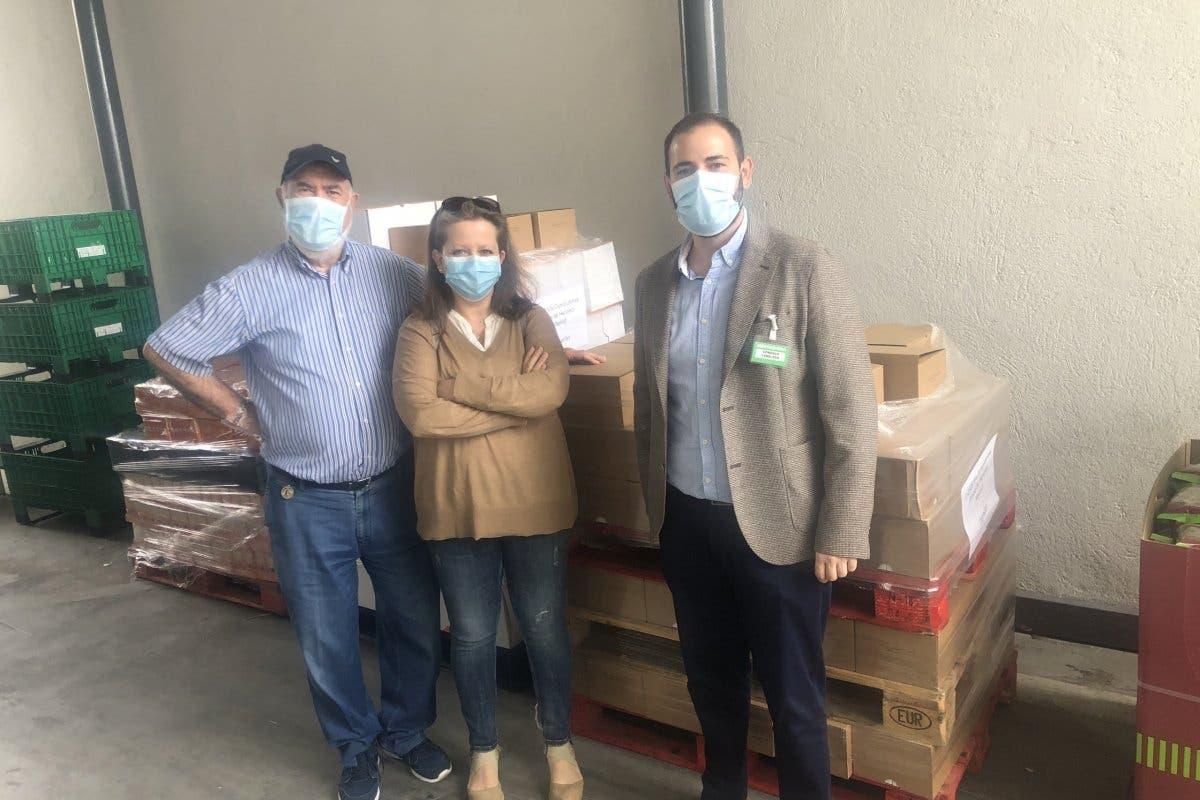 Mercadona dona en Alcalá de Henares 5.000 productos de primera necesidad