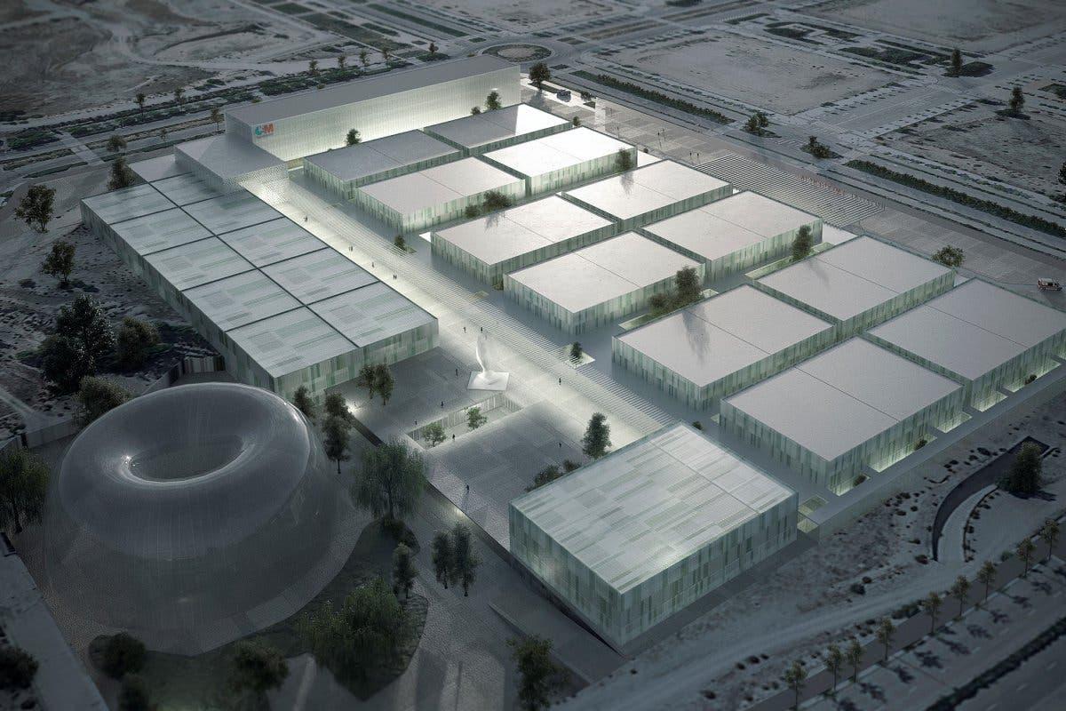 Así será el futuro hospital de pandemias que Ayuso construirá en Valdebebas