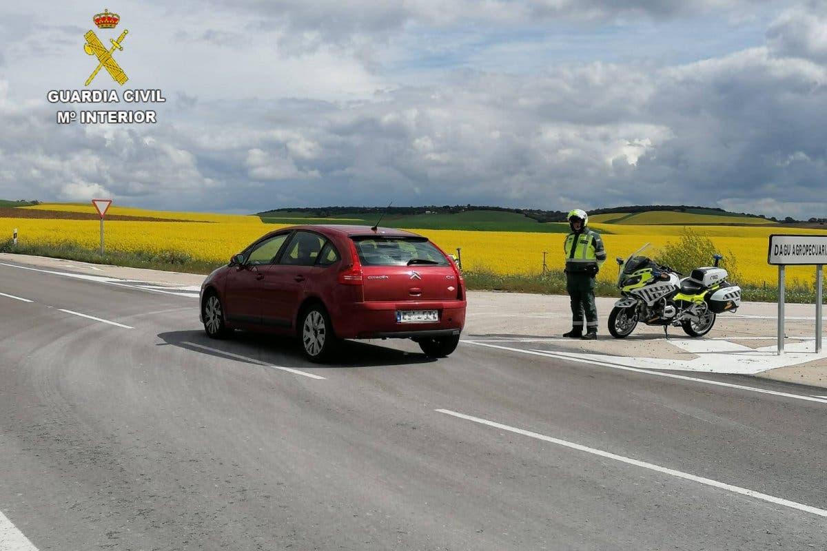 Guadalajara: Cazado circulando a 172 km/h en un tramo limitado a 70