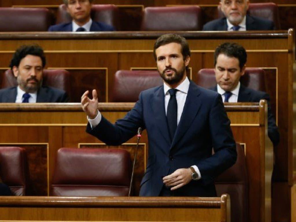 Sánchez anuncia un homenaje a las víctimas y Casado le acusa de «ocultar» muertos