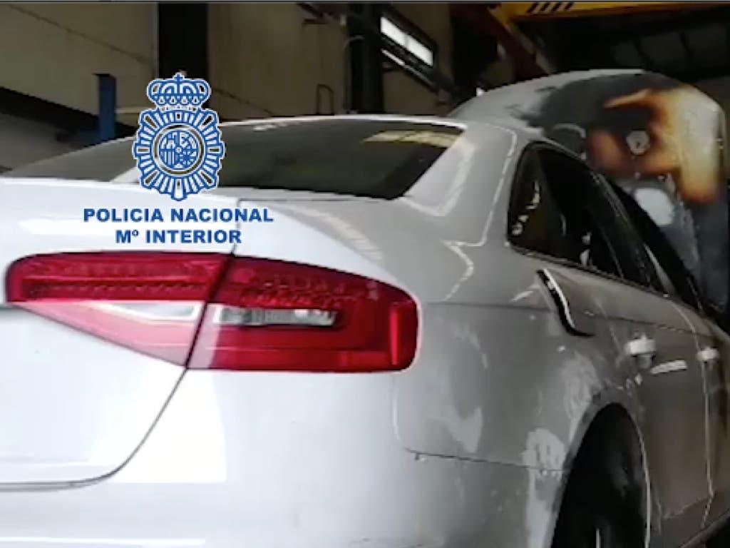 Detenidos en Talamanca, El Casar y Daganzo por robar coches para defraudar a aseguradoras